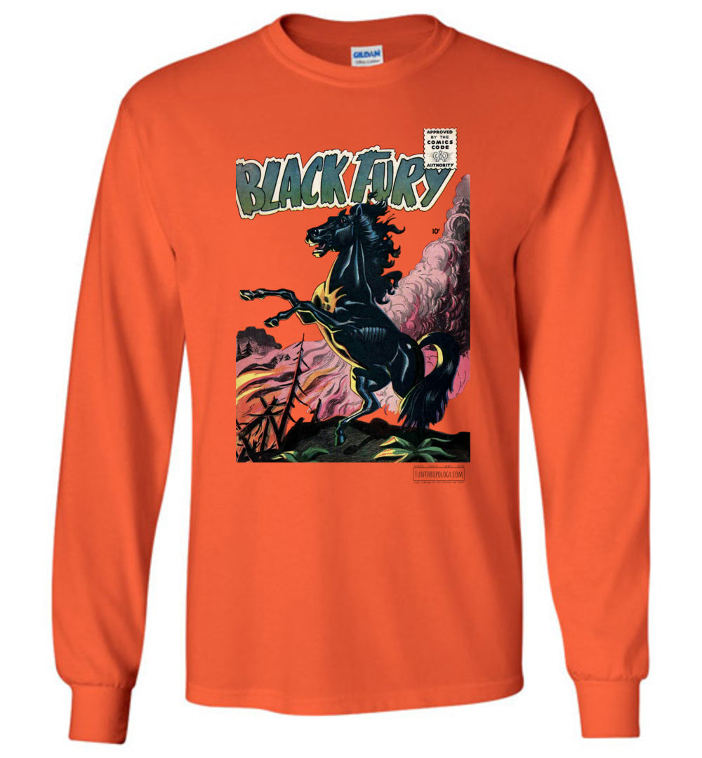 Black Fury No.1 Long Sleeve (Youth, Light Colors)