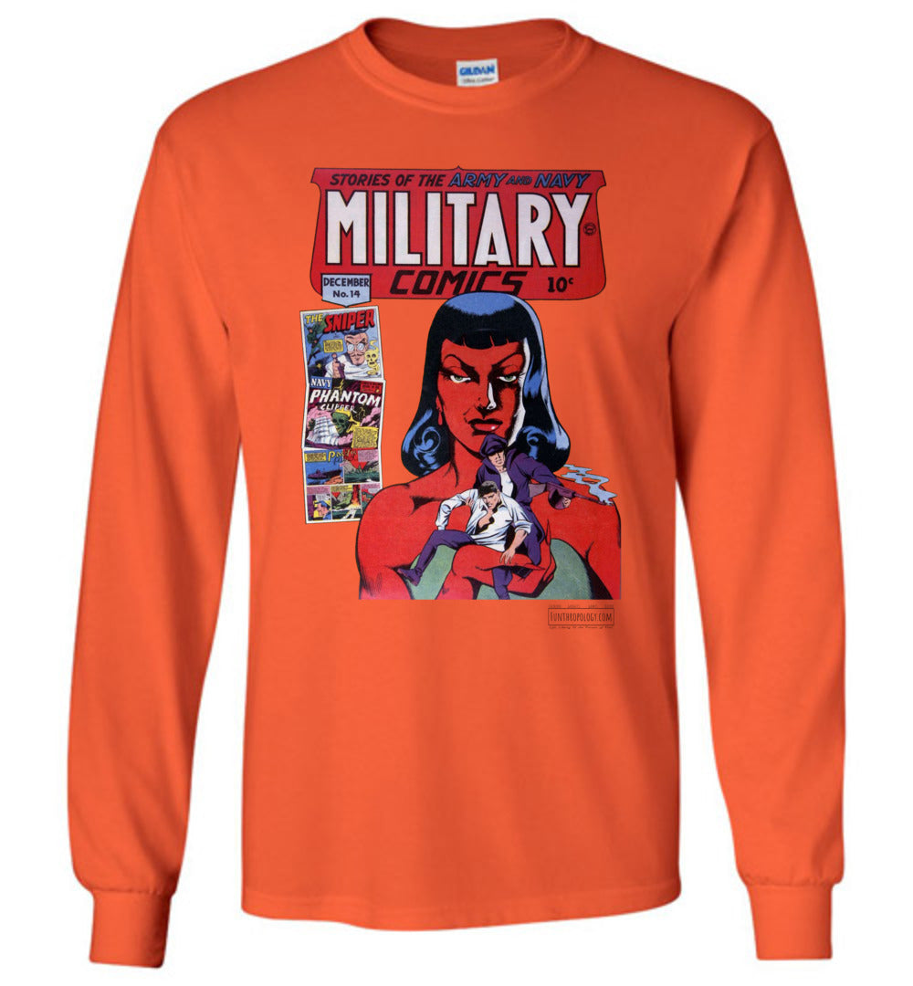 Military Comics No.14 Long Sleeve (Youth, Light Colors)