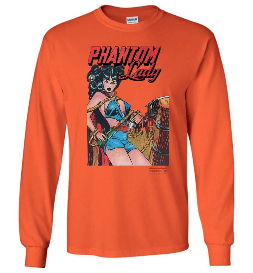 Phantom Lady No.17 Long Sleeve (Unisex, Light Colors)