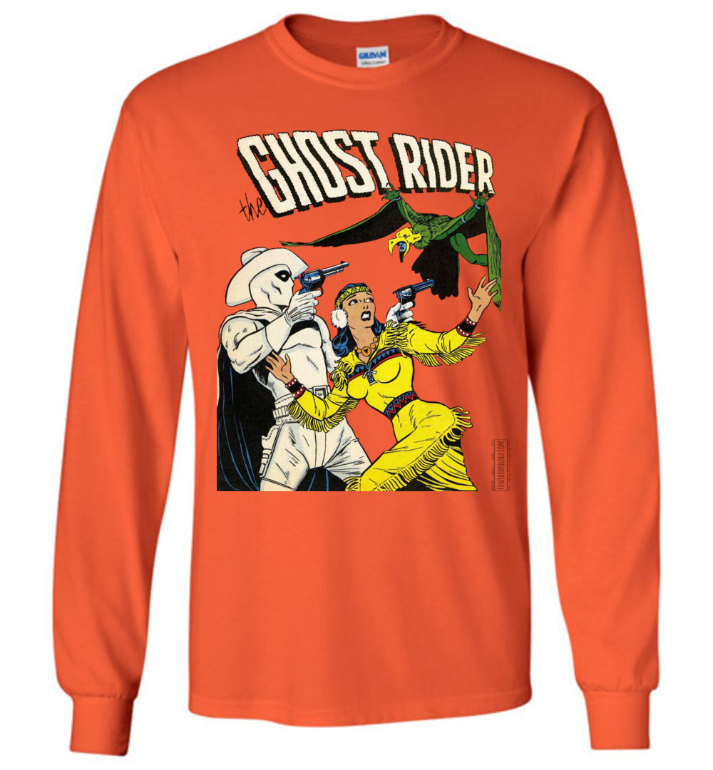 The Ghost Rider No.9 Long Sleeve (Unisex Plus, Light Colors)