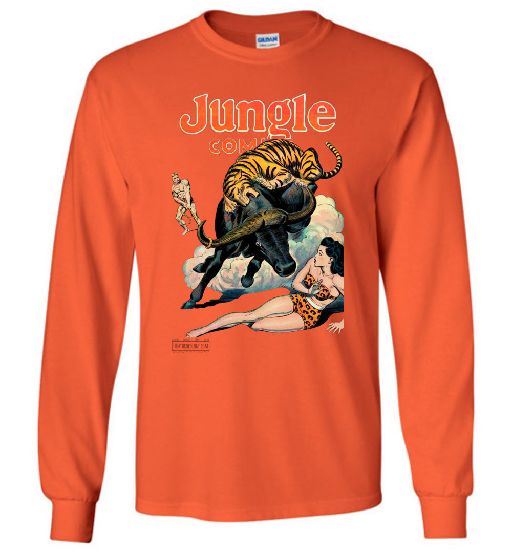 Jungle Comics No.84 Long Sleeve (Unisex, Light Colors)