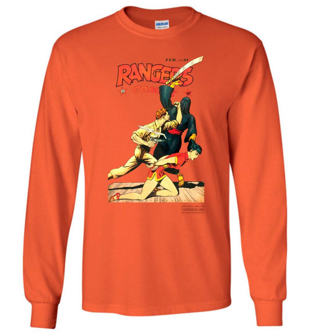 Rangers Comics No.21 Long Sleeve (Unisex, Light Colors)
