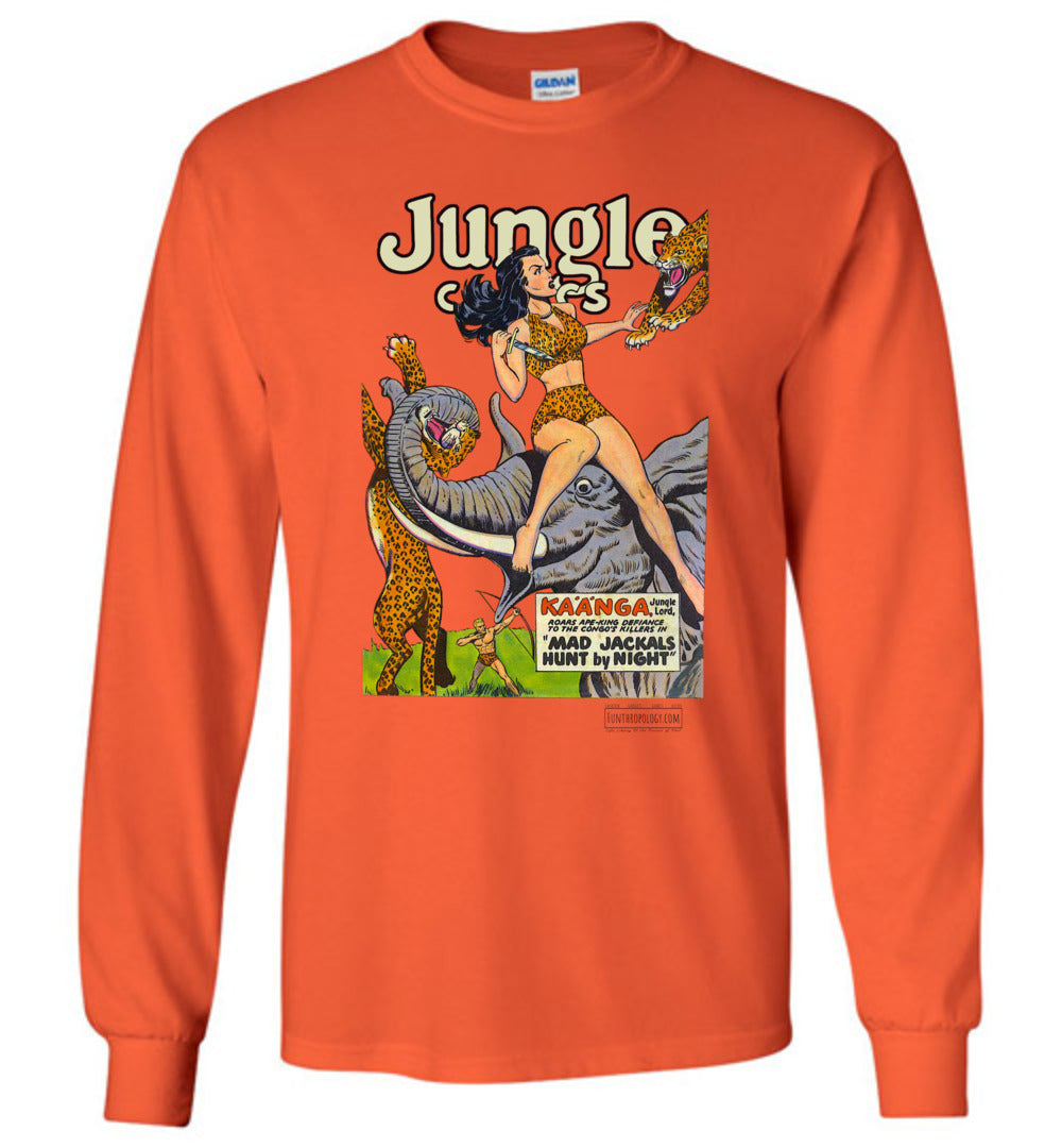 Jungle Comics No.114 Long Sleeve (Unisex, Light Colors)