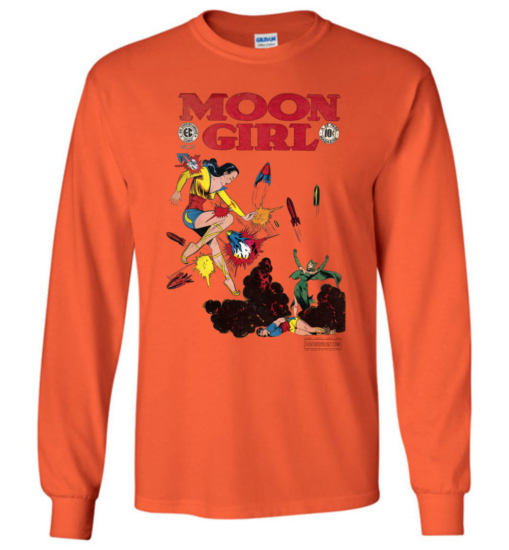 Moon Girl No.3 Long Sleeve (Youth, Light Colors)