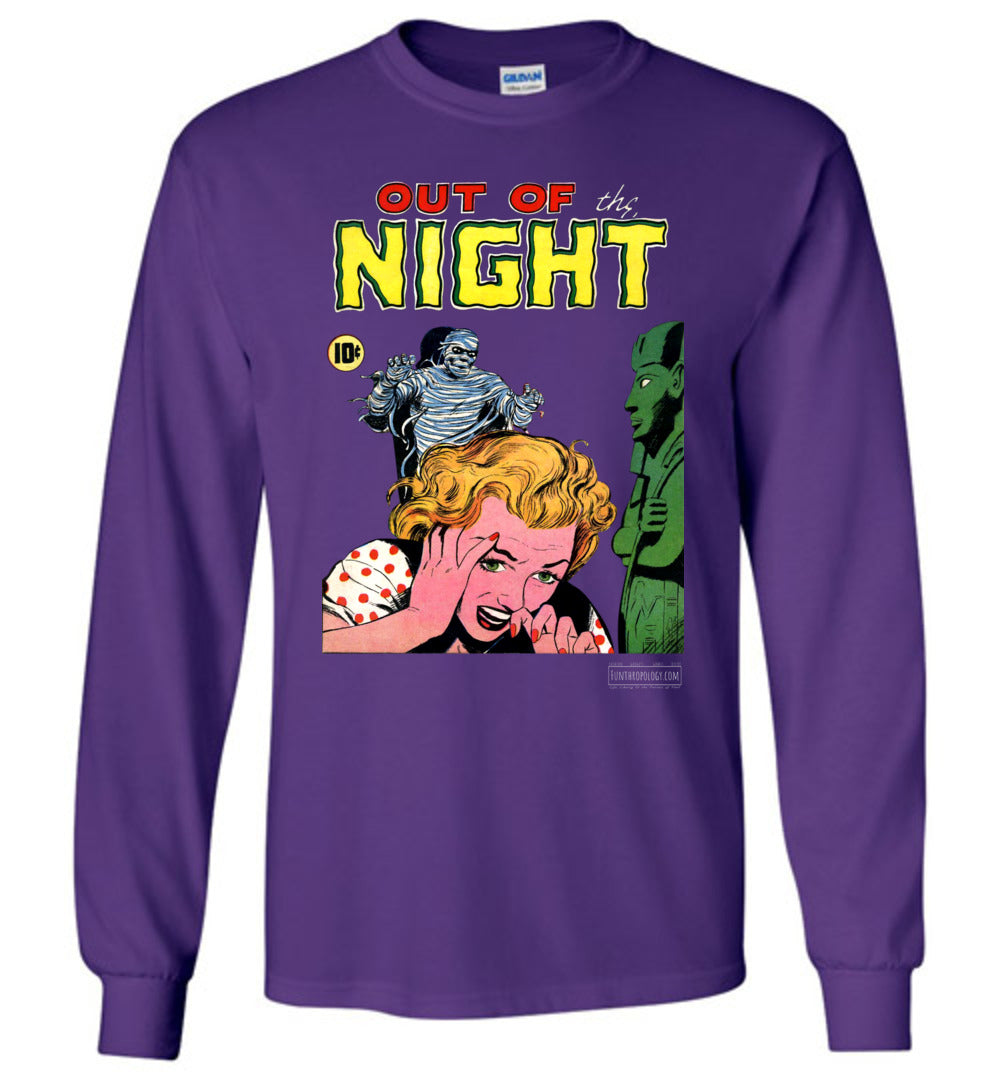 Out Of The Night No.2 Long Sleeve (Youth, Dark Colors)