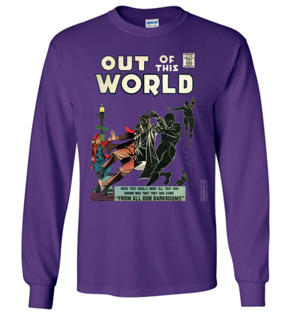 Out Of This World No.4 Long Sleeve (Youth, Dark Colors)