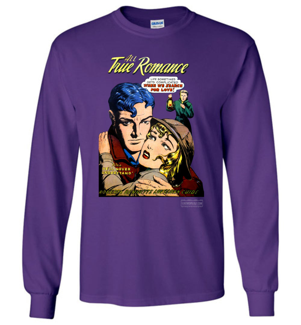 All True Romance No.1.4 Long Sleeve (Unisex, Dark Colors)