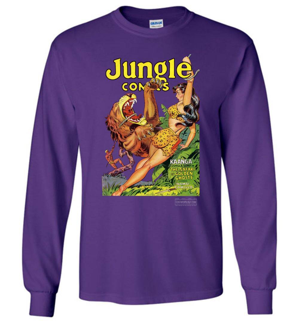 Jungle Comics No.137 Long Sleeve (Unisex, Dark Colors)