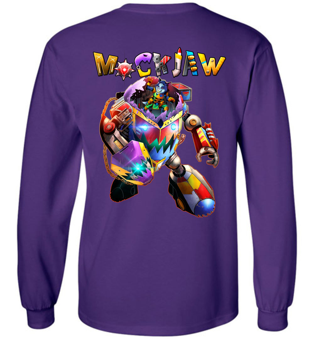 Capes & Chaos Mockjaw Long Sleeve (Youth)