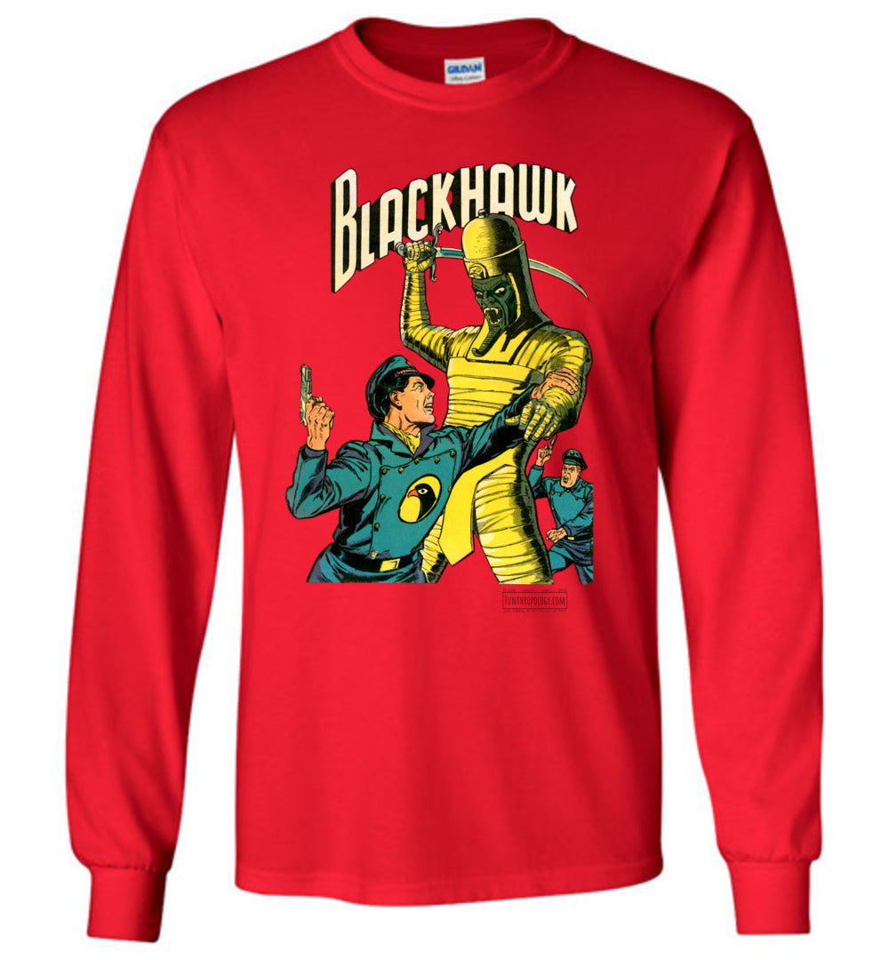 Blackhawk No.53 Long Sleeve (Unisex, Light Colors)