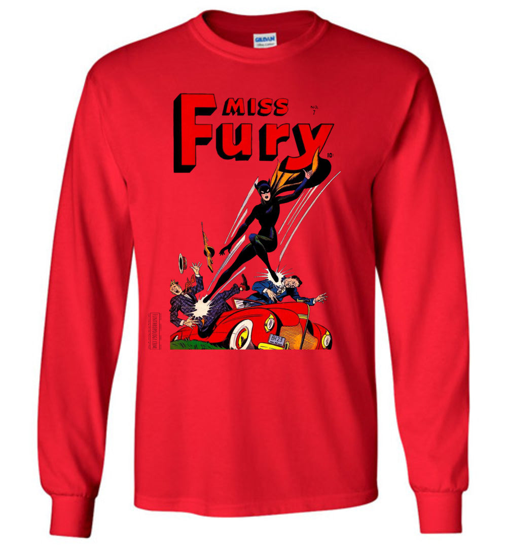 Miss Fury No.7 Long Sleeve (Youth, Light Colors)