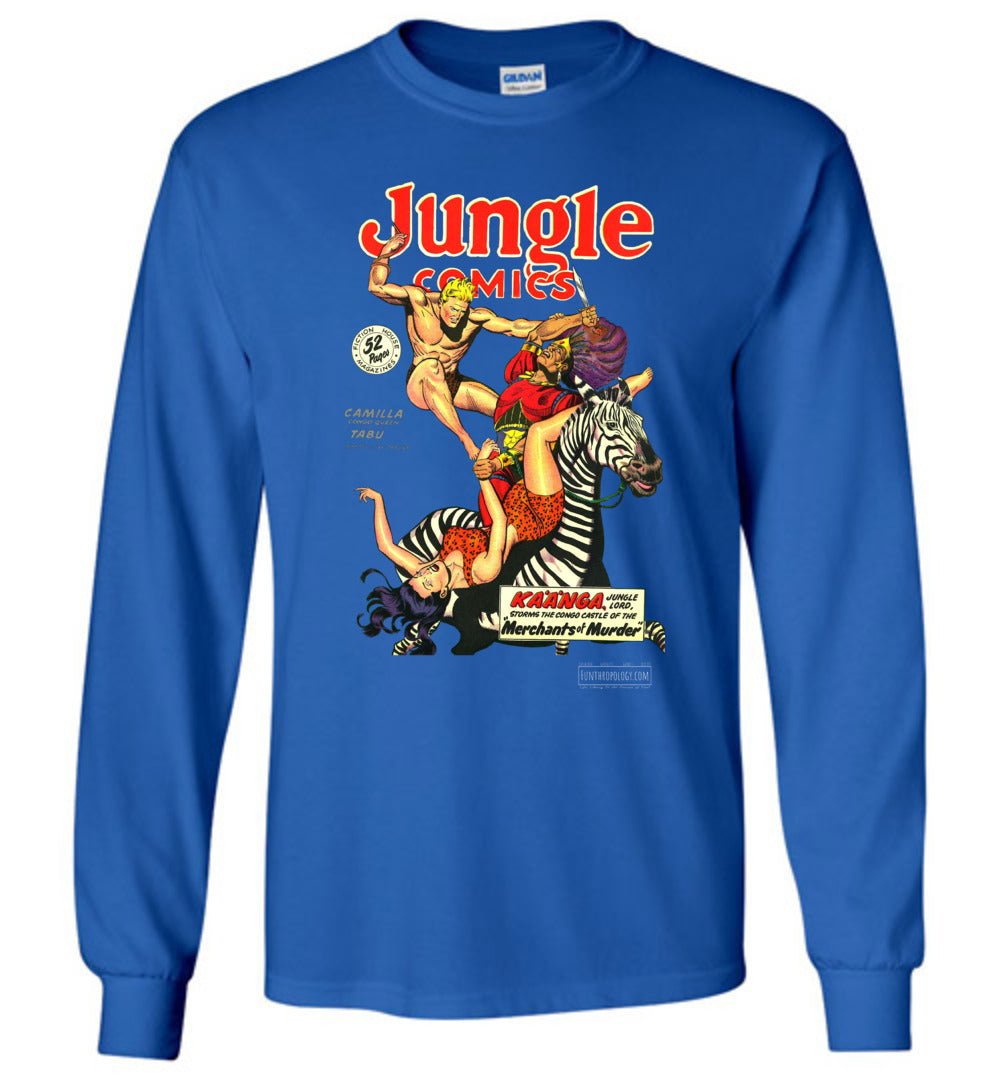Jungle Comics No.108 Long Sleeve (Unisex, Dark Colors)