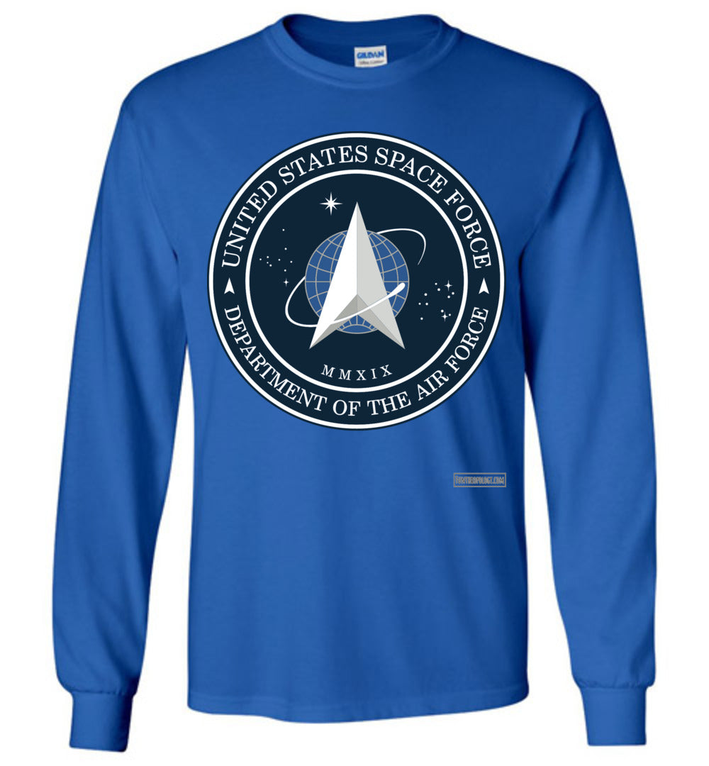 Space Force - Official Insignia Long Sleeve (Unisex)