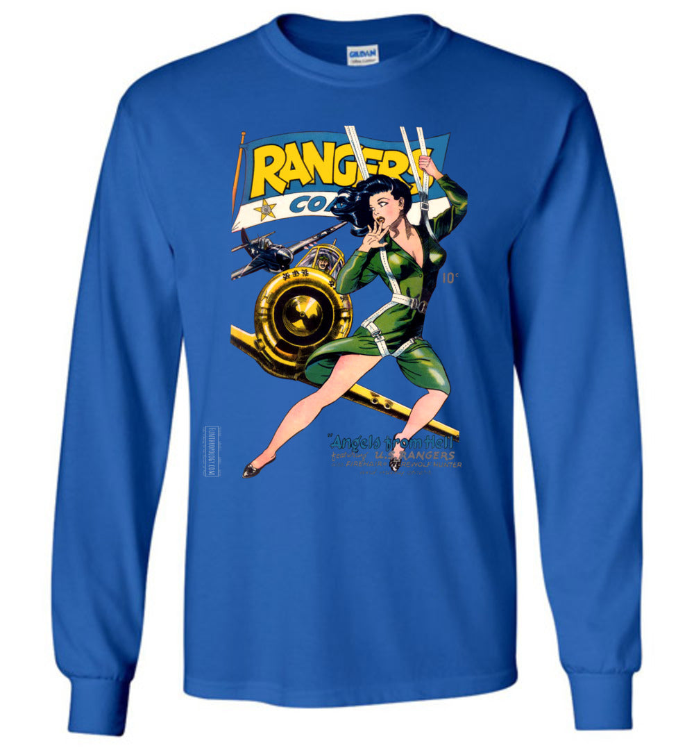 Rangers Comics No.26 Long Sleeve (Unisex, Dark Colors)