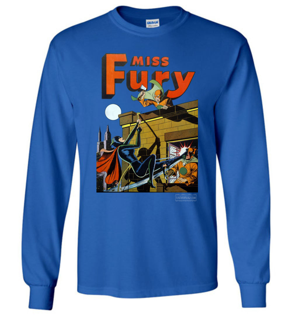 Miss Fury No.2 Long Sleeve (Unisex, Dark Colors)