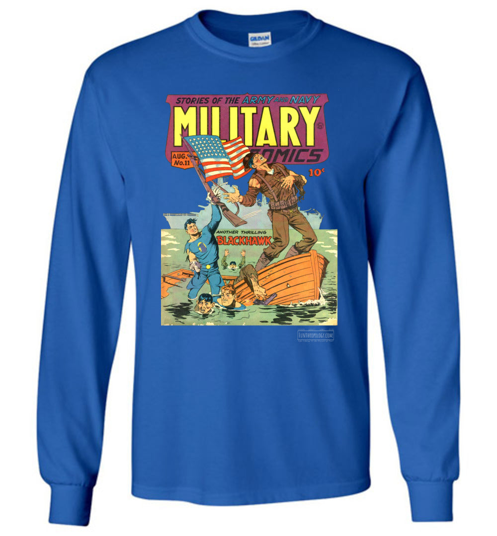 Military Comics No.11 Long Sleeve (Youth, Dark Colors)