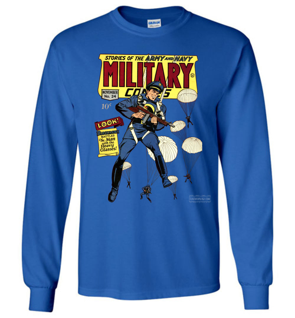 Military Comics No.24 Long Sleeve (Youth, Dark Colors)