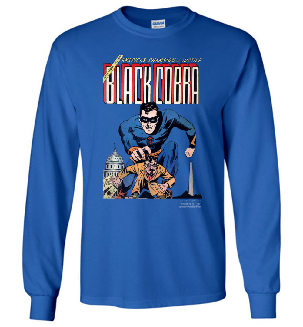 Black Cobra No.1 Long Sleeve (Unisex, Dark Colors)