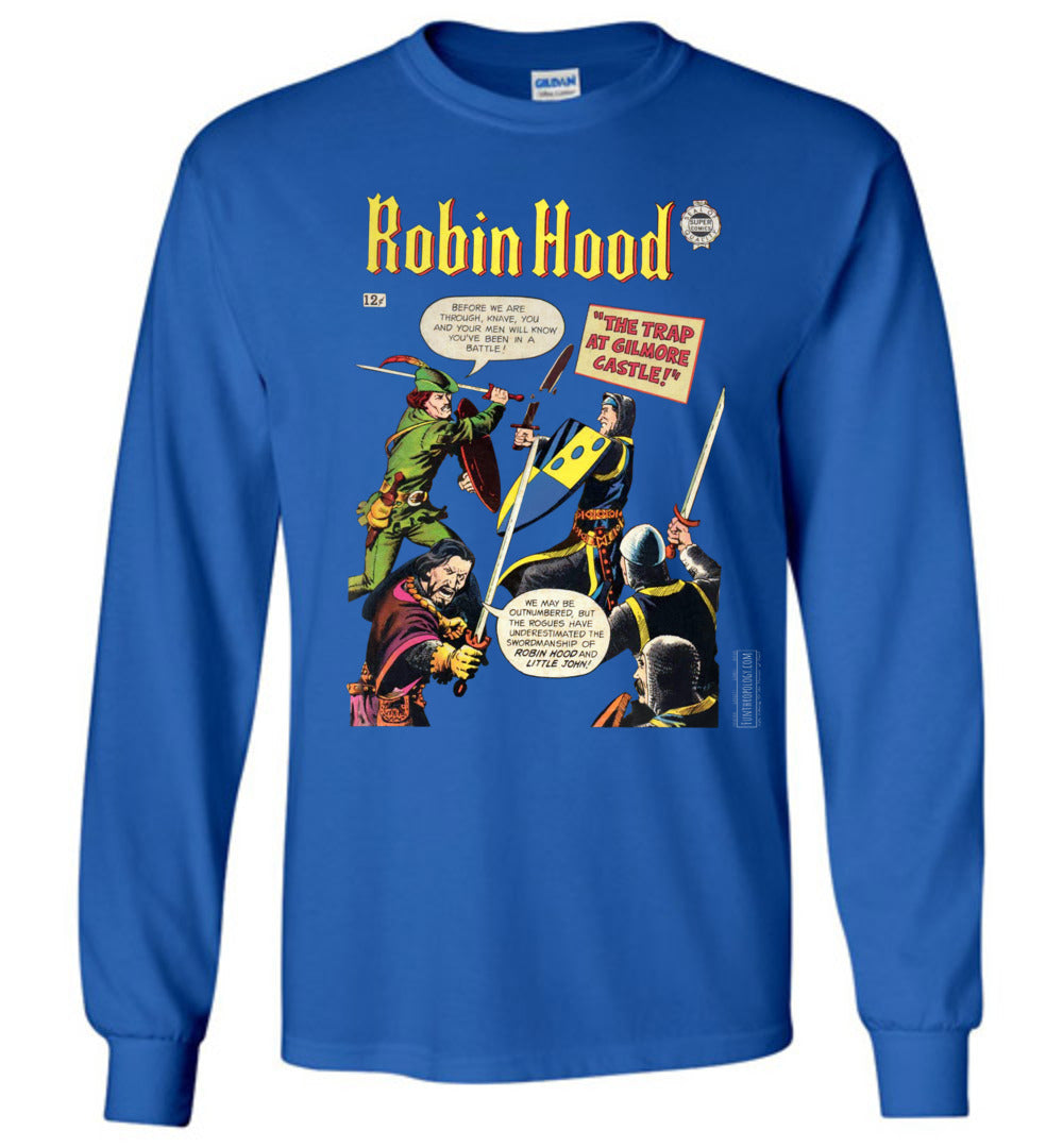 Robin Hood No.10 Long Sleeve (Unisex, Dark Colors)
