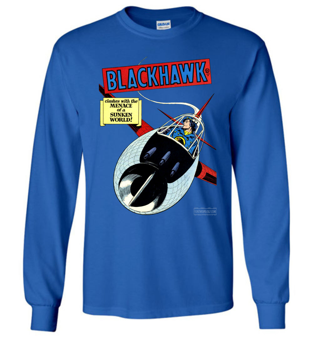 Blackhawk No.26 Long Sleeve (Unisex, Dark Colors)