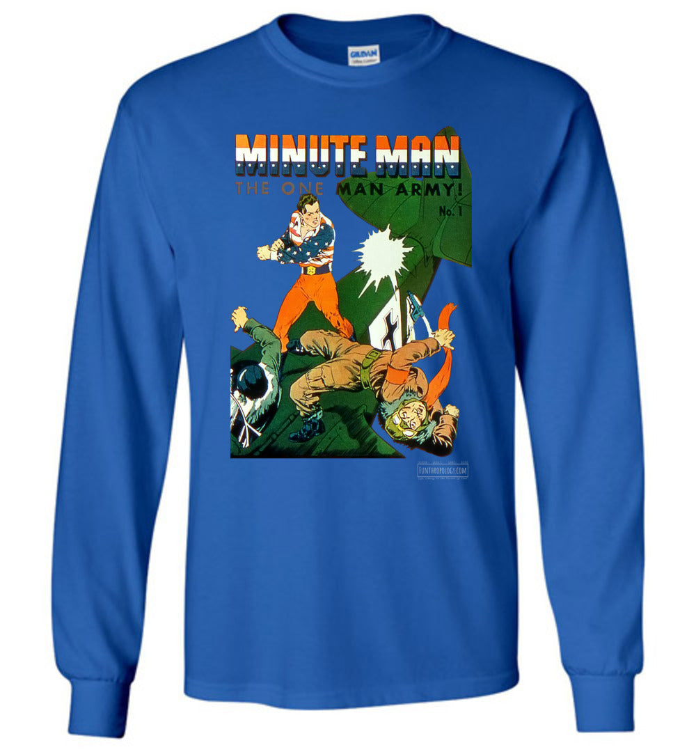 Minute Man No.1 Long Sleeve (Youth, Dark Colors)