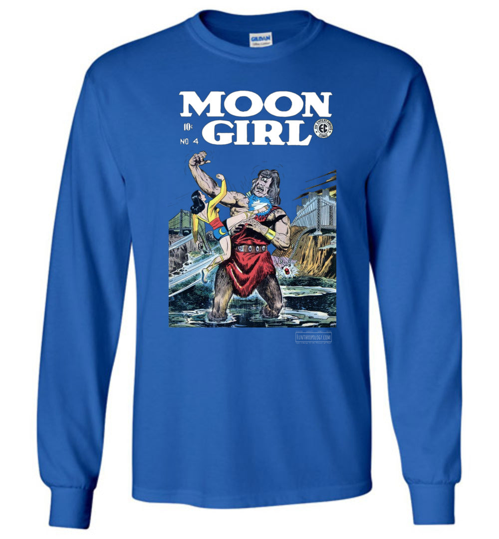 Moon Girl No.4 Long Sleeve (Unisex, Dark Colors)