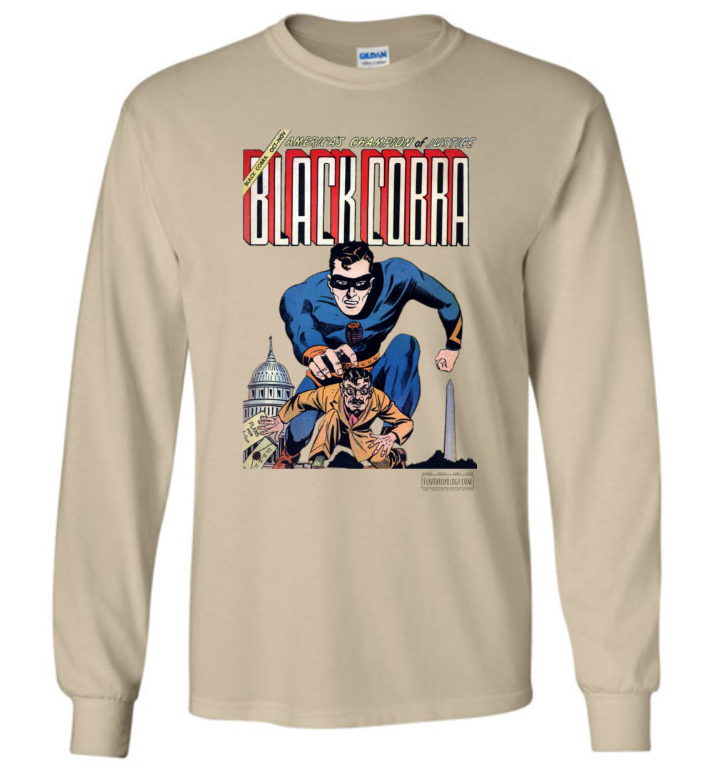 Black Cobra No.1 Long Sleeve (Unisex, Light Colors)