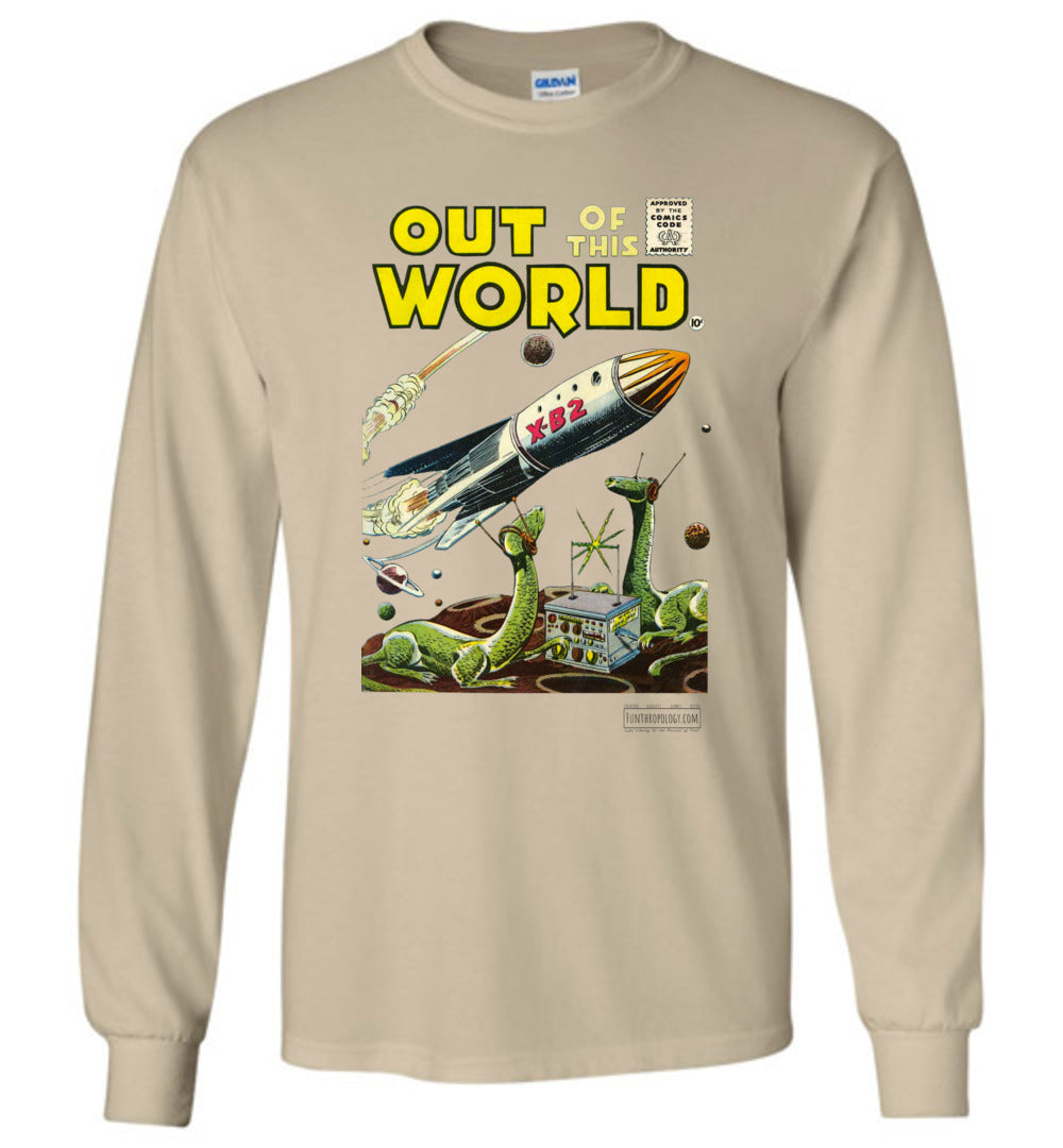 Out Of This World No.1 Long Sleeve (Unisex, Light Colors)