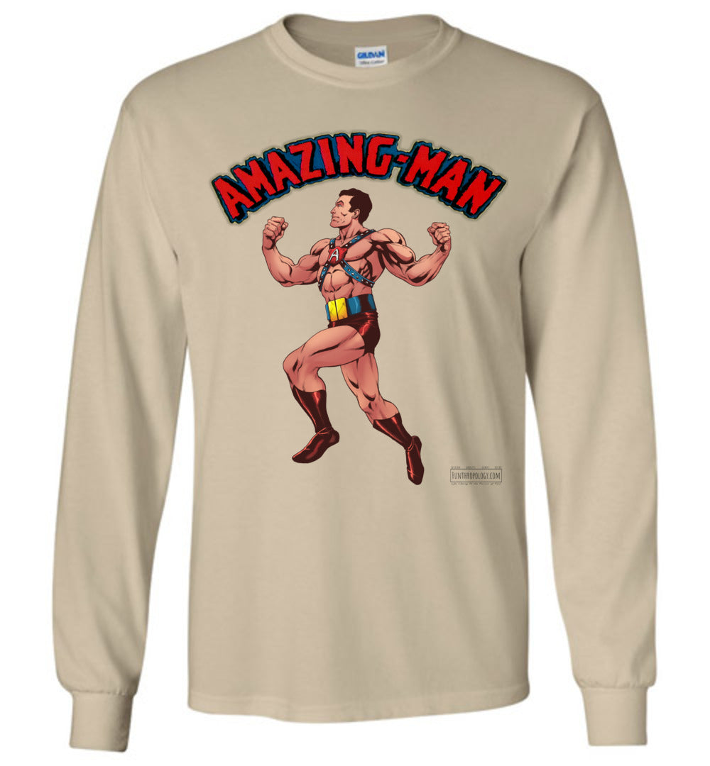 Amazing-Man Reimagined Long Sleeve (Unisex, Light Colors)
