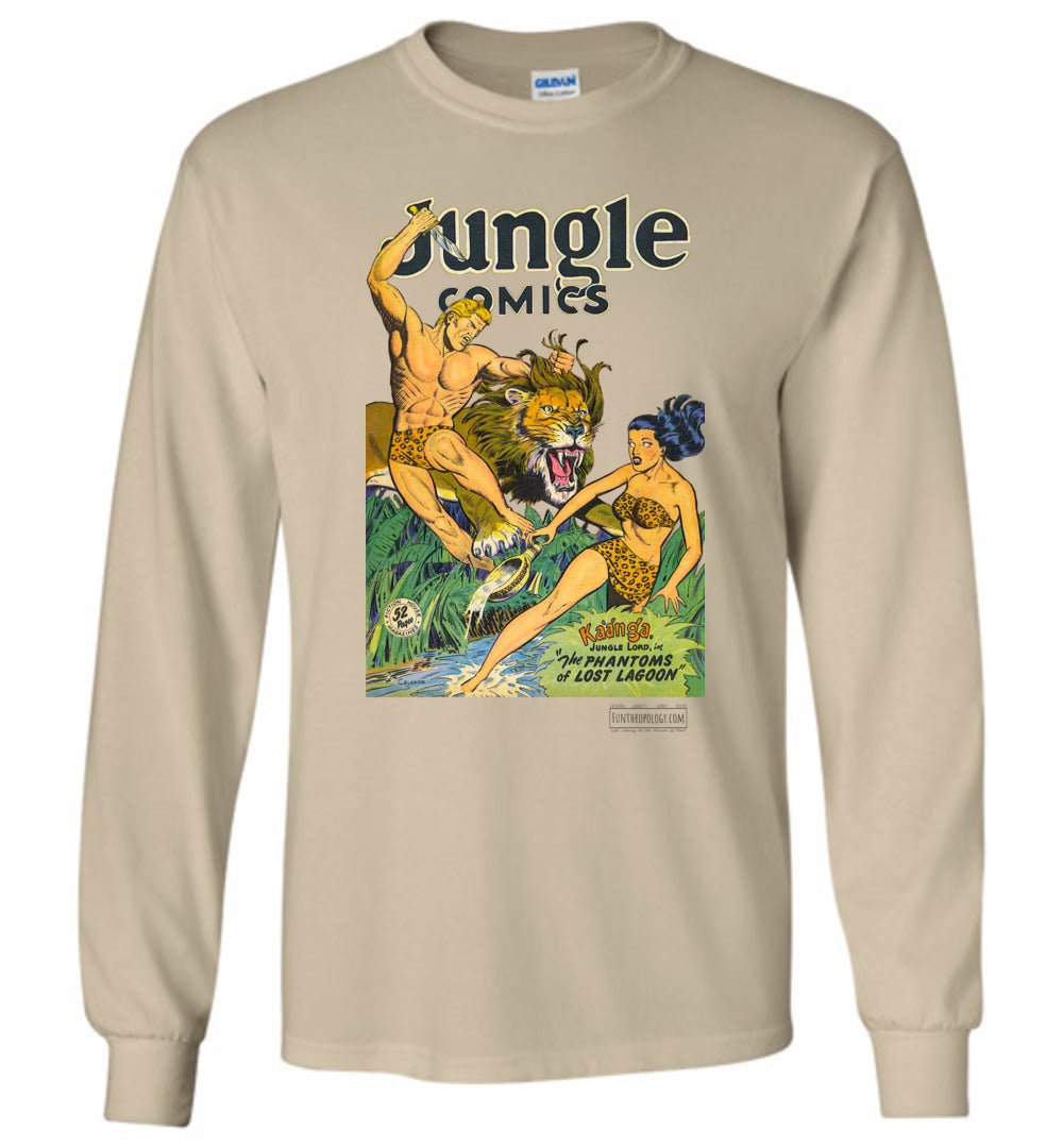 Jungle Comics No.103 Long Sleeve (Unisex, Light Colors)