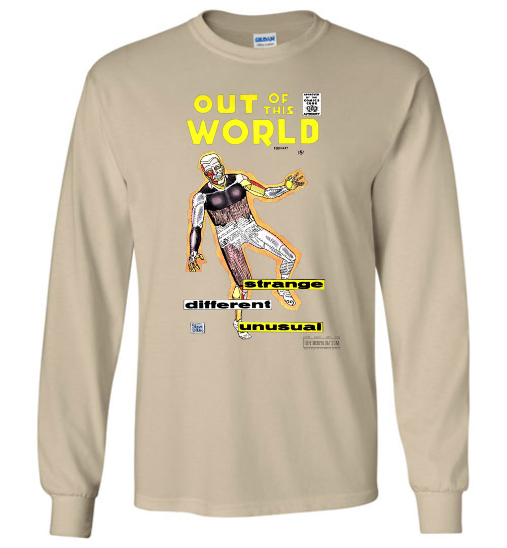 Out Of This World No.7 Long Sleeve (Unisex, Light Colors)