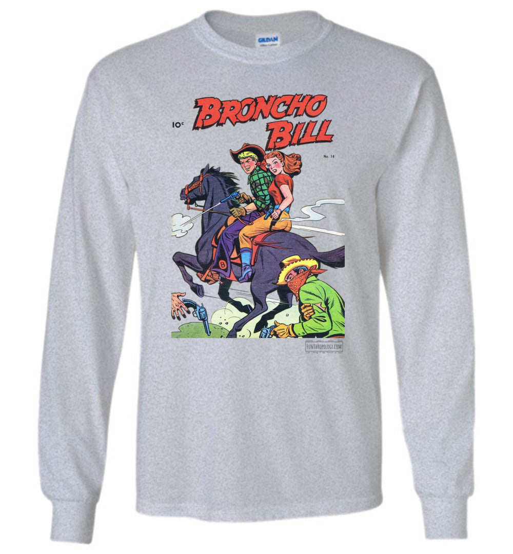 Broncho Bill No.14 Long Sleeve (Unisex, Light Colors)