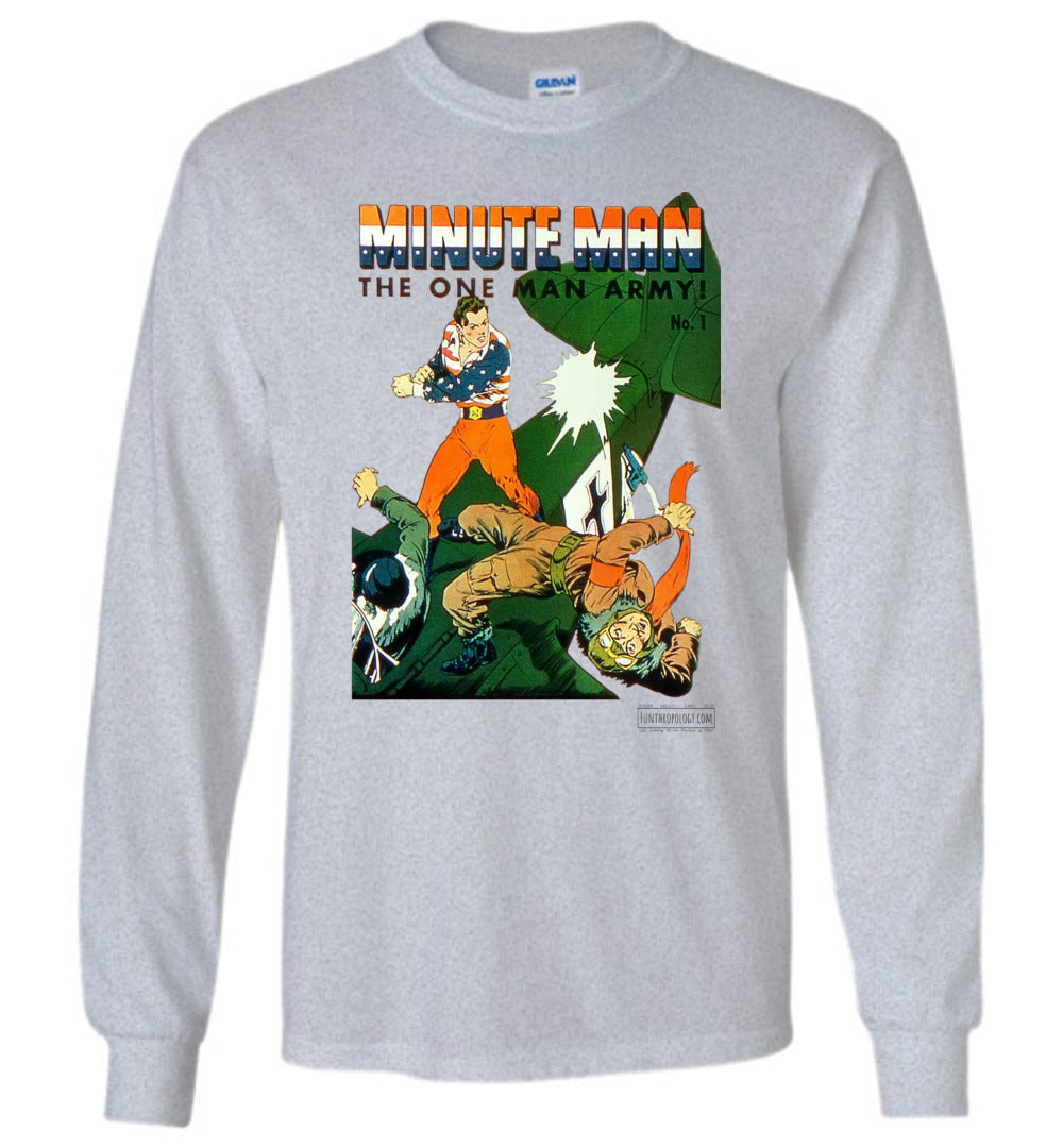 Minute Man No.1 Long Sleeve (Youth, Light Colors)