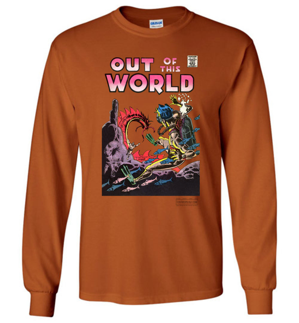 Out Of This World No.5 Long Sleeve (Unisex, Light Colors)