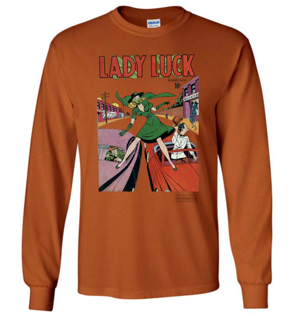 Lady Luck No.86 Long Sleeve (Unisex, Light Colors)