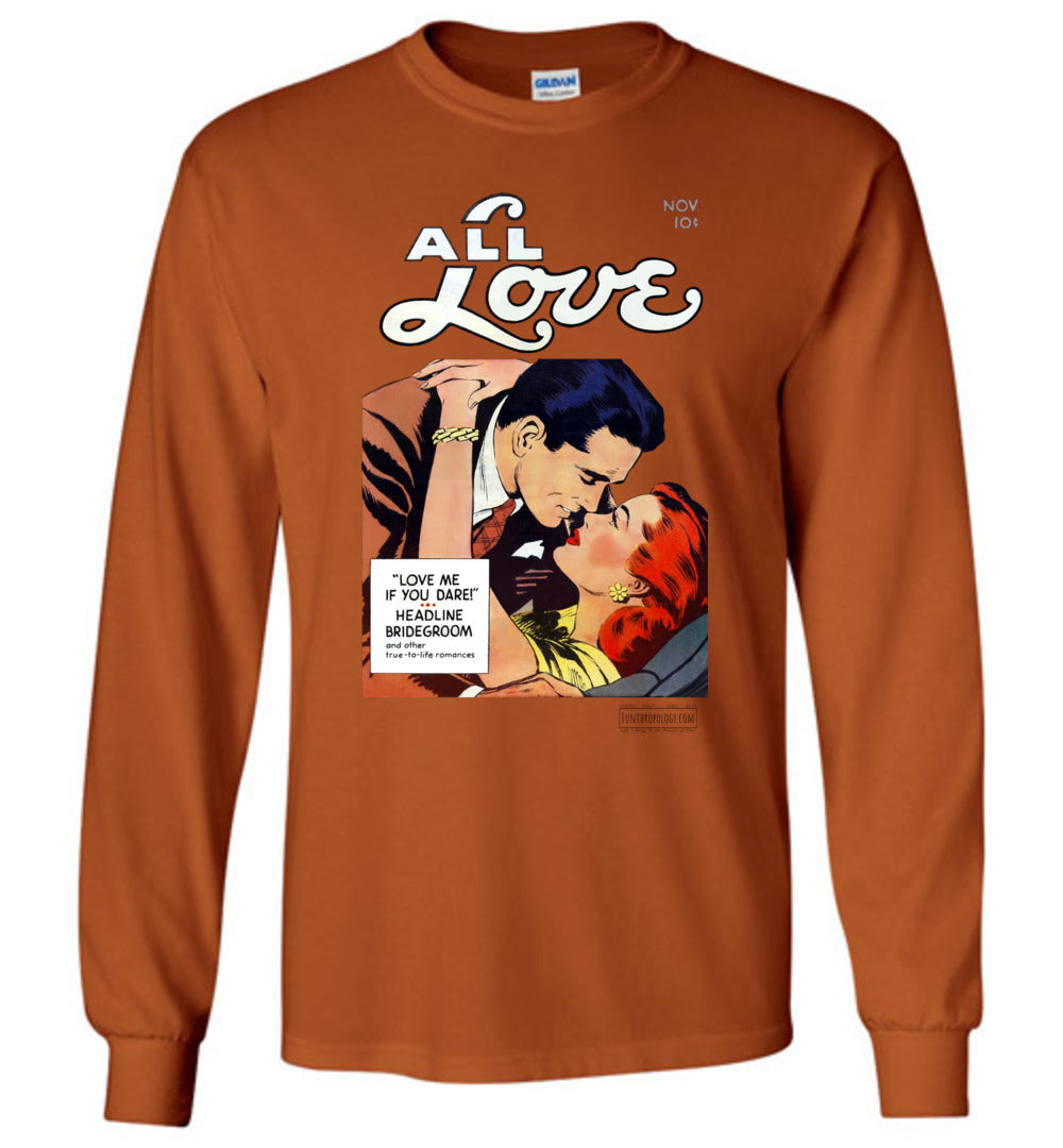 All Love No.29 Long Sleeve (Unisex, Light Colors)