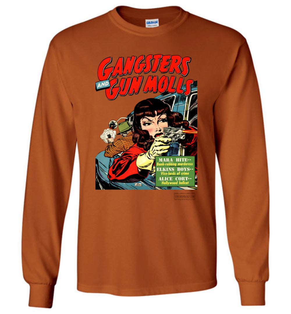 Gangsters And Gunmolls No.4 Long Sleeve (Unisex, Light Colors)