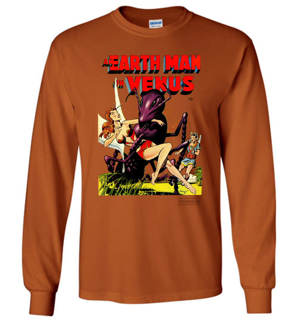 An Earth Man On Venus No.1 Long Sleeve (Unisex Plus, Light Colors)