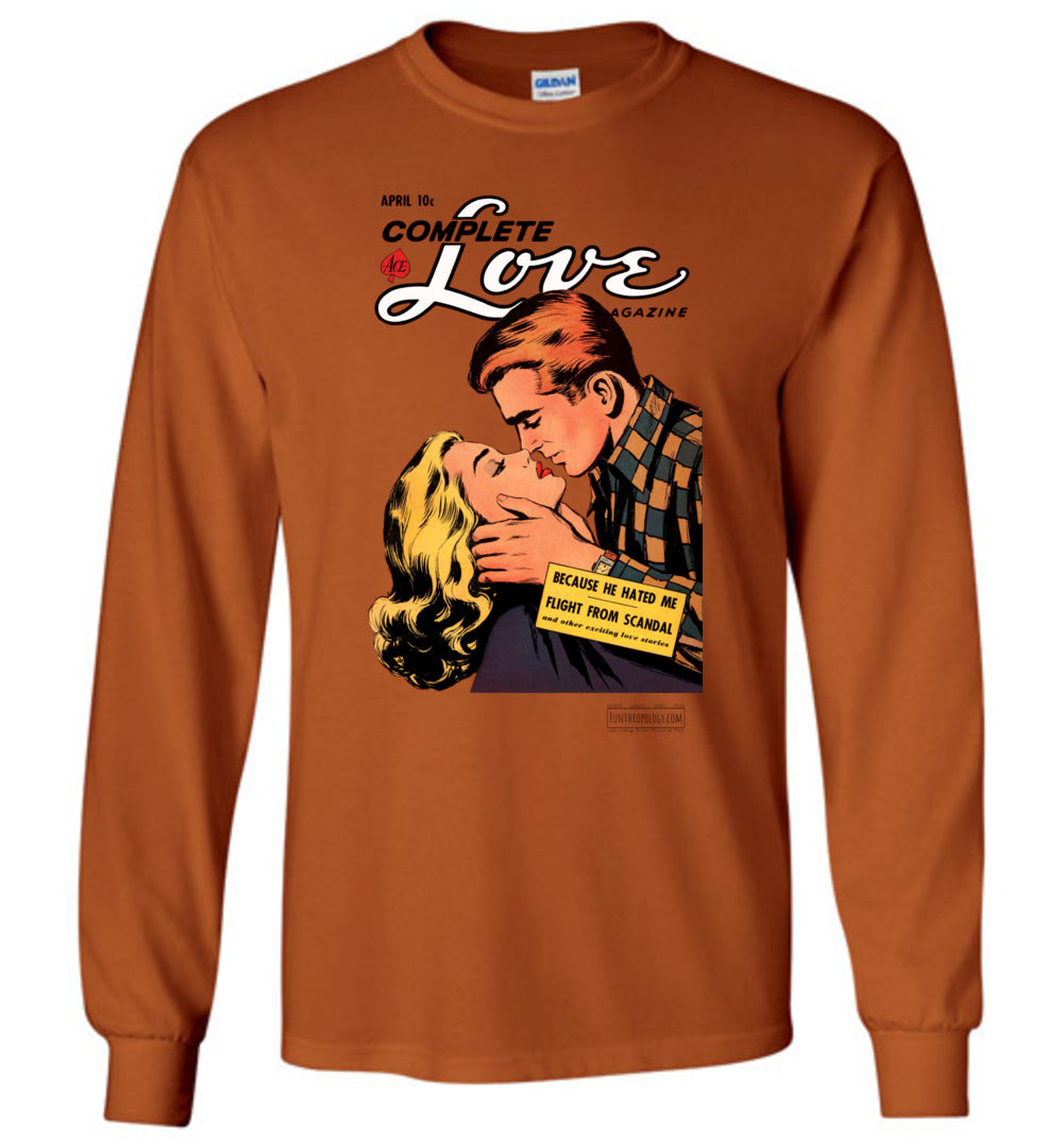 Complete Love No.27.1 Long Sleeve (Unisex, Light Colors)