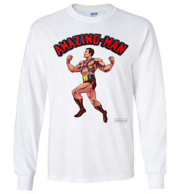 Amazing-Man Reimagined Long Sleeve (Unisex Plus, Light Colors)