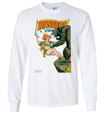 Rangers Comics No.41 Long Sleeve (Unisex Plus, Light Colors)