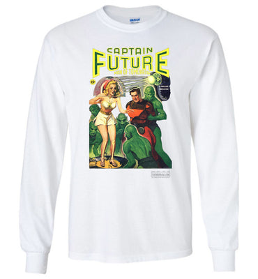 Captain Future No.12 Long Sleeve (Unisex Plus, Light Colors)