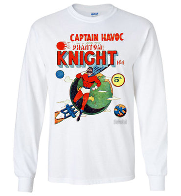 The Phantom Knight No.4 Long Sleeve (Unisex, Light Colors)