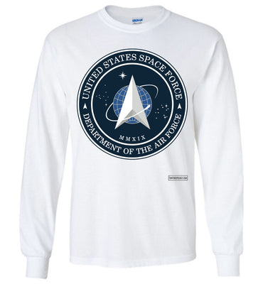 Space Force - Official Insignia Long Sleeve (Unisex Plus)