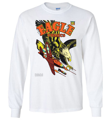 Eagle Comics No.1 Long Sleeve (Unisex Plus, Light Colors)