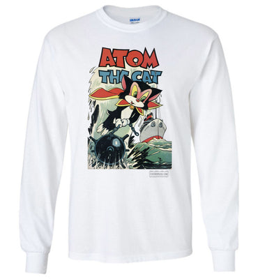 Atom The Cat No.10 Long Sleeve (Youth, Light Colors)