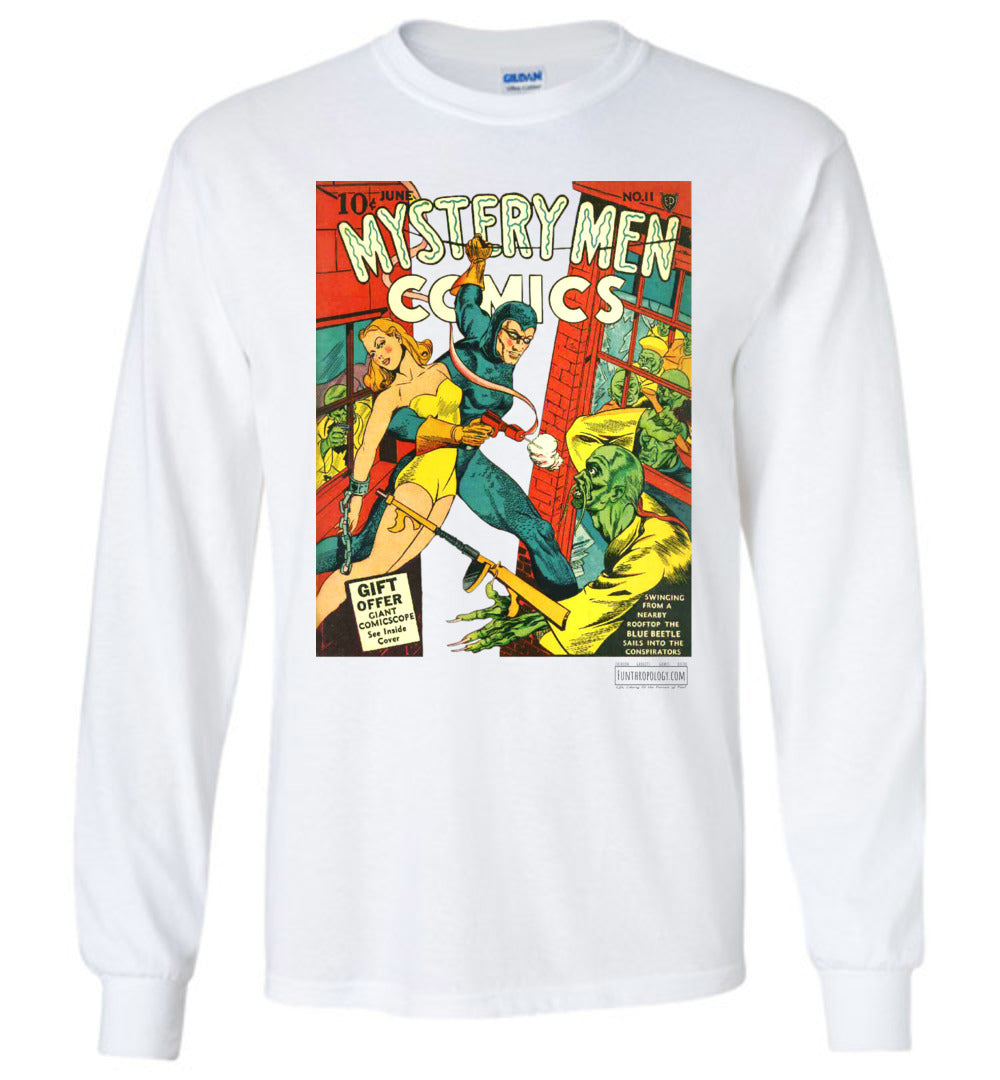 Mystery Men Comics No.11 Long Sleeve (Youth, Light Colors)