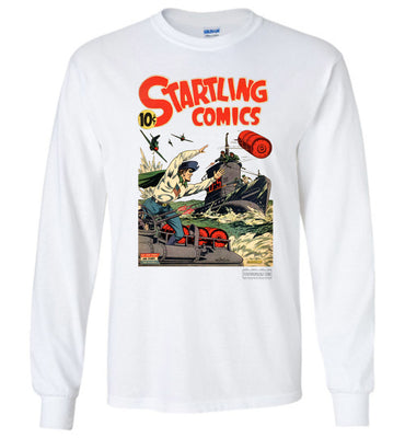 Startling Comics No.28 Long Sleeve (Youth, Light Colors)