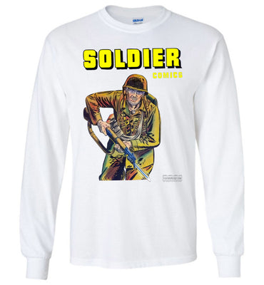 Soldier Comics No.5 Long Sleeve (Youth, Light Colors)