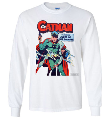 Catman No.16 Long Sleeve (Unisex Plus, Light Colors)